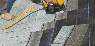 residential roofing install